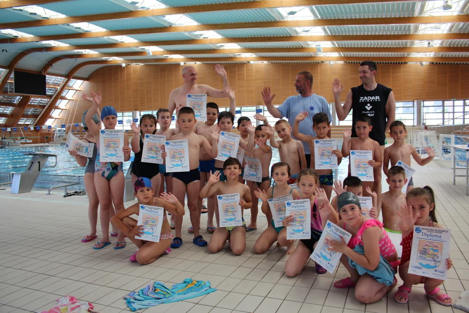 21 Novi plivač iz O.Š. K.Krstića i P.Š. Ploča