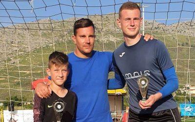 """Giovanni Jerolimov i Luka Miočić osvojili prestižni turnir """"Rat vratara"""" u Stobreču"""
