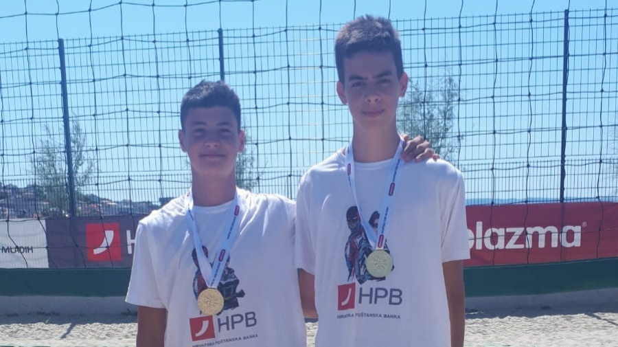 Dvojac iz OK Zadar, Jakov Marković i Luka Buljat osvojio Plazma sportske igre mladih u odbojci
