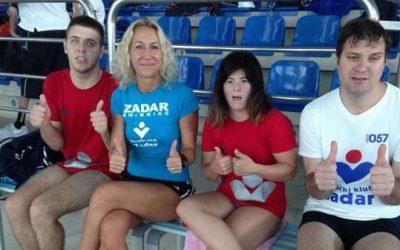 PK Zadar: Osam medalja s regionalnog natjecanja u plivanju za osobe s invaliditetom