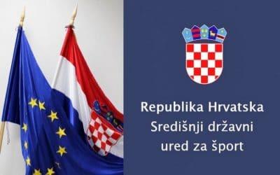 """Raspisan Natječaj za sufinanciranje športskih programa obuke neplivača """"Hrvatska pliva"""" u 2020. godini"""