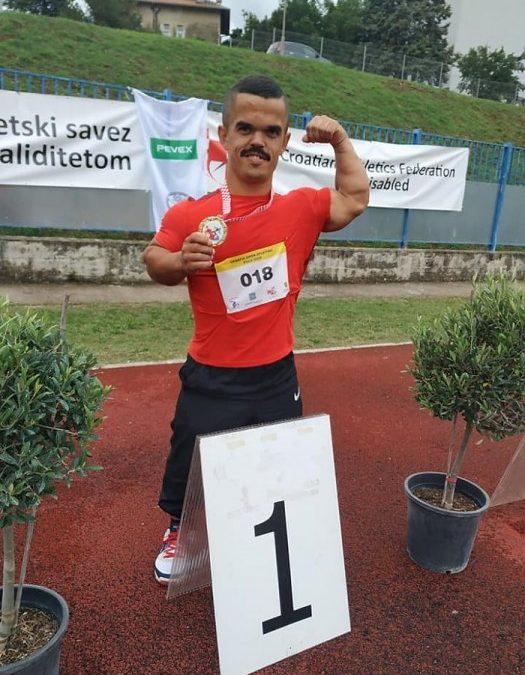 Vladimir Gašpar prvak Hrvatske u bacanju koplja