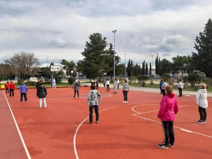 Započeo program športske rekreacije 60+
