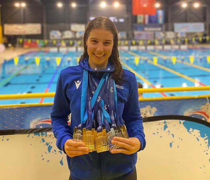 Zadarska studentica u Vukovaru do 9 medalja u plivanju