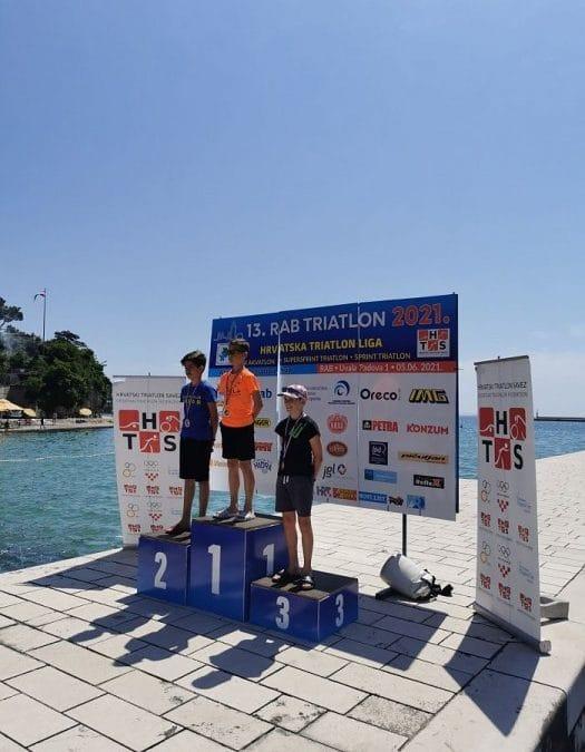 Uspjeh zadarskih triatlonaca na 13. Rapskom triatlonu