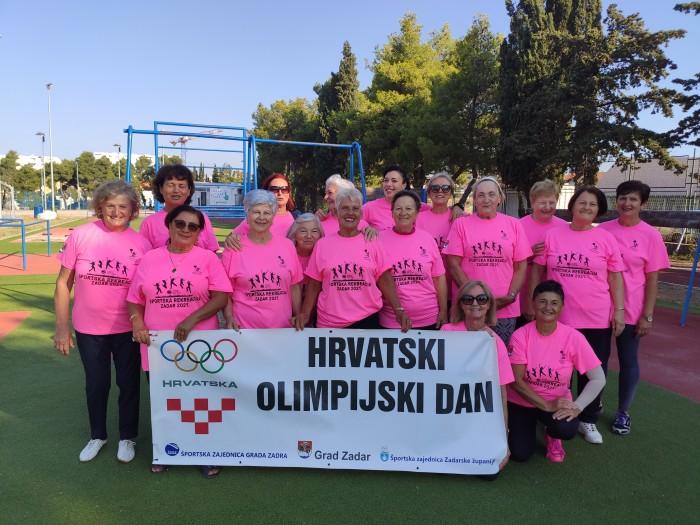 Rekreativci i sportaši obilježili Hrvatski olimpijski dan